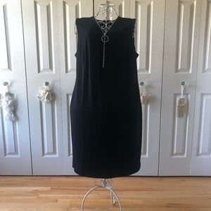 JM Collection sleeveless dress